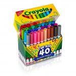 40 Count Washable Markers