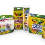 Back to School Supplies Kit with Watercolors (Grades 4-6)