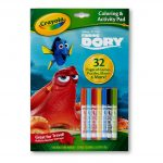 Coloring & Activity Pad w/Markers Finding Dory