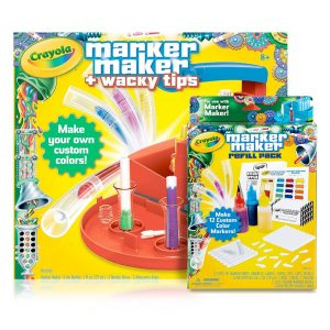 Marker Maker W/ Wacky Tips and Refill Bundle