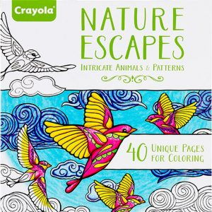 Nature Escapes Coloring Books