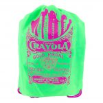 Neon Green Drawstring Bag