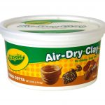 Terra Cotta Air Dry Clay Bucket 2.5 lb