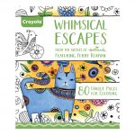 Whimsical Escapes Coloring Book